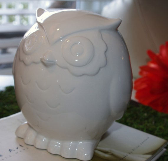 Owl Bank  Save your loot in a hoot of a bank