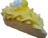 Sweet Tush Lemon Meringue Milk Bath Cake Slice