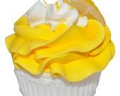 Sweet Tush Lemon Meringue Cupcake Bath Bomb Gift/Favor