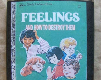 Flask, Funny Gift, Humor, Gag Gift, Groom, Bride, Wedding Party, Bachelor Gift, Bachelorett Gift, Feelings - And How to Destroy Them