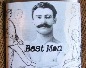 Best Man - Wedding Flask