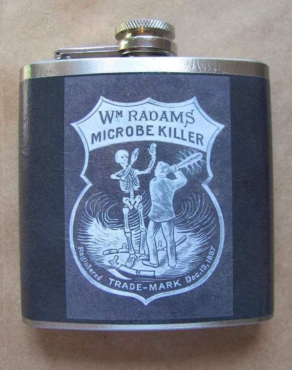 Flask - Microbe Killer - 1887