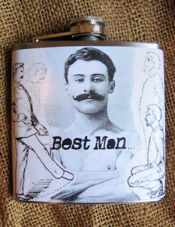 Wedding Gift For Groom From Best Man : Best Man Gift, Flask, Wedding Party, Groomsmen, Groom, Gag Gift ...