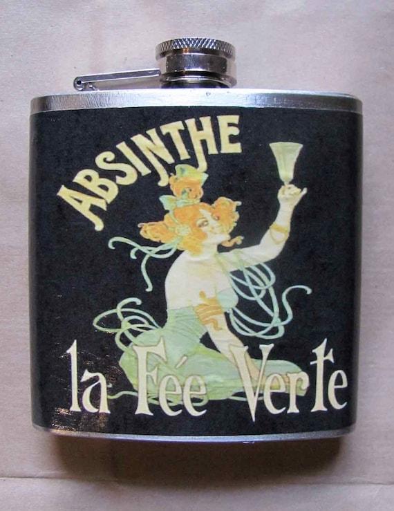 Flask - Absinthe