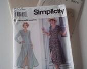 1994 Simplicity Dress Sewing Pattern No. 8976 (size 18 20 22)