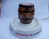 Vintage and Most Unusual GUINNESS Ashtray from the 1950's  HIGHLY COLLECTIBLE