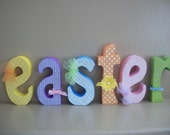 Easter Wood Letters