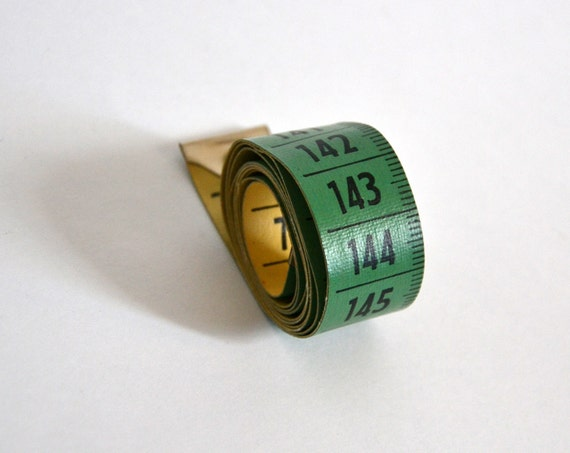 RESERVED listing for L M - Vintage Cloth Tape Measure