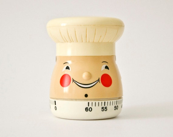 Fat Chef Kitchen Cooker Timer- 60 minute duration