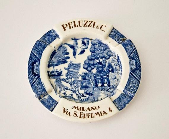 Reserved for Jenya - Vintage rare Italian ashtray Milan
