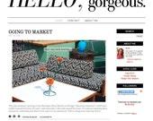 Premade Premium Blog Design: Hello Gorgeous