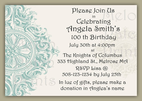 Items similar to Printable Invitation - Bridal Shower ...
