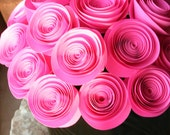 Pink Paper Flower Gift Arrangement
