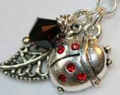 Necklace: Ladybug of Luck Jewelry