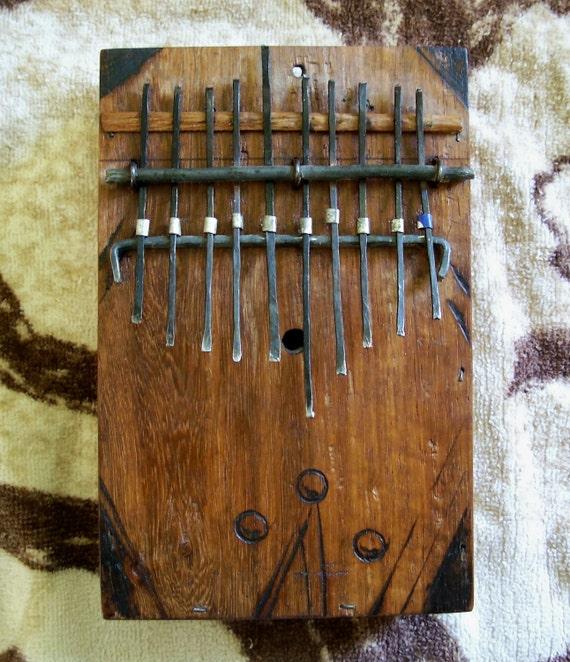 Finger Harp Mbira Kalimba Thumb Piano Sansa Ikembo