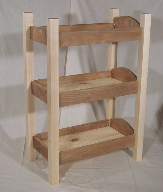Triple Decker Doll Bed For 18 Inch Dolls By Dunkinwoodworks