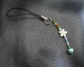 Hand Made Beaded Phone Charm