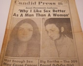 March 18, 1973 National Candid Press Mature Pulp Tabloid