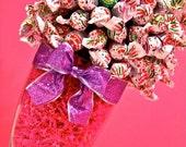 Blow Pop Lollipop Sucker Candy Land Centerpiece Vase, Candy Buffet Decor, Candy Arrangement Wedding, Mitzvah, Party Favor, Candy Creation