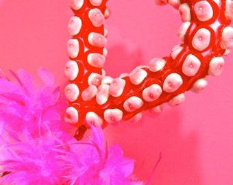 Heart Love Candy Centerpiece Topiary Tree, Candy Buffet Decor, Candy Arrangement Wedding, Mitzvah, Party Favor, Edible Art