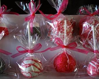 x 25 Custom Individually Wrapped Jumbo Oreo Cream Cheese Cake  Balls Pops, Cake Pop Edible Favors, Wedding Gift, Mitzvahs, Birthdays