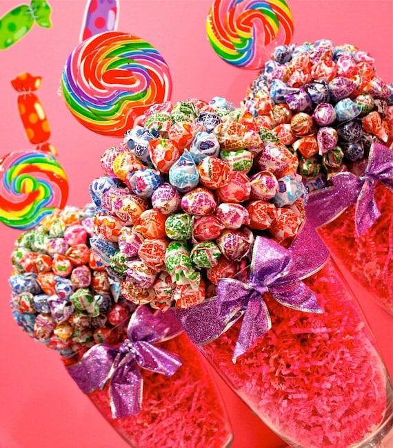Dum Dum Lollipop Sucker Candy Land Centerpiece Vase Candy
