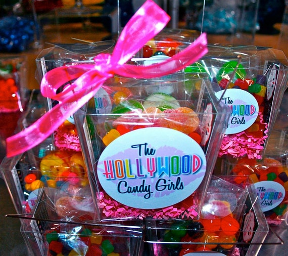 x10 Custom Candy Filled Goody Boxes Favors, Candy Arrangement Wedding, Mitzvah, Candy Creation, Edible Art