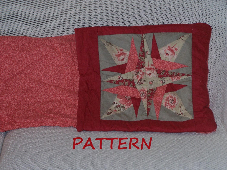 Quilt Pillow Pattern Star Quillow Pdf 017