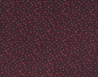 Flea Market Fancy by Denyse Schmidt, Fizzy Dot in Red- Fall Market Palette: 1/2 Yard Cut