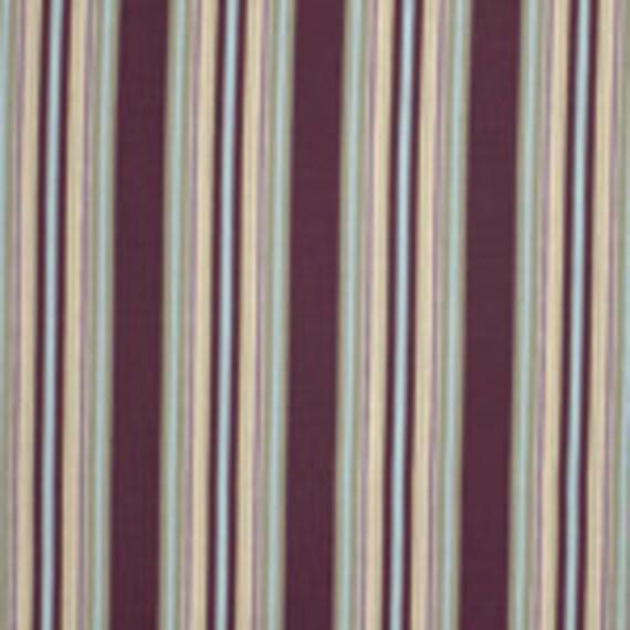 Amy Butler Gypsy Caravan- Hammock Stripe in Mocha -Rosa Palette in One Yard Cut