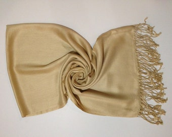 Set of 10 Beige Pashmina, Pashmina , Pashmina Shawls, Shawl, Pashmina Scarf, Bridesmaid Shawl, Wedding Gift, Wrap, Gift, Scarf