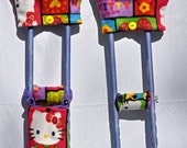 Hello Kitty Crutch Cover Set by The Classy Crutch