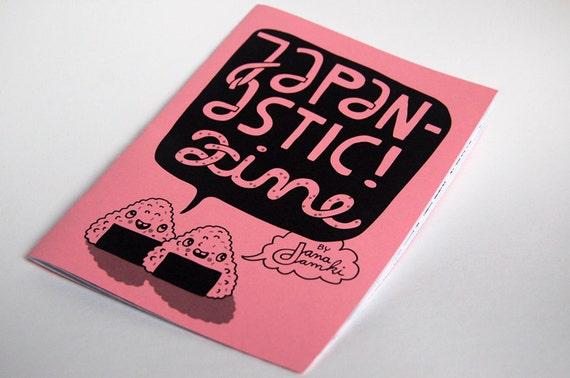 """Zine about Japan """"JAPANASTIC"""" - by danadamki"""