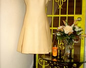Vintage Irish Cream Cocktail Dress