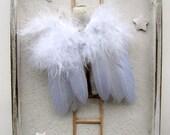 Shadow Box Antique Doll Angel Star Assemblage