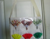 Sensu Fan Origami Tote Bag - Reserved for Wendy