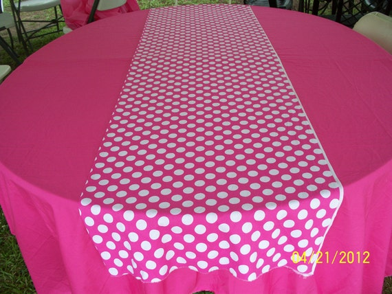Pink Table Cloth : 60