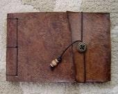 Artist's Leather Sketchbook - Brown