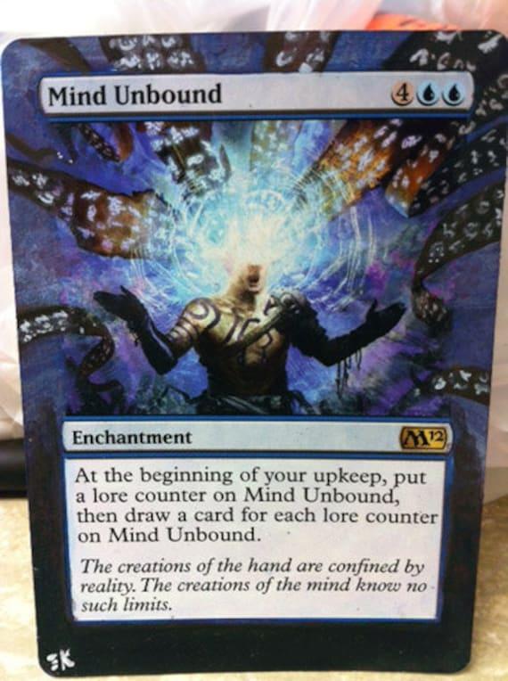 Magic the Gathering: Mind Unbound Altered Art
