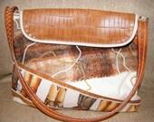 Large Western, Horse-lover inspired Handbag