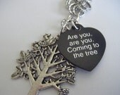 Hunger Games Are you are you Coming to the tree Wear a Necklace of Rope for me Hanging Tree Necklace