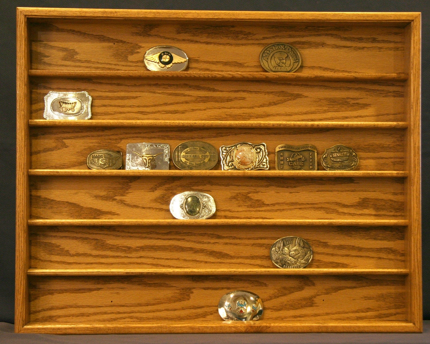 Belt Buckle Display Case By OakCollection On Etsy