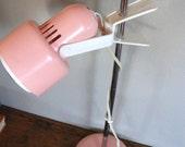Retro Pink Plastic Lamp