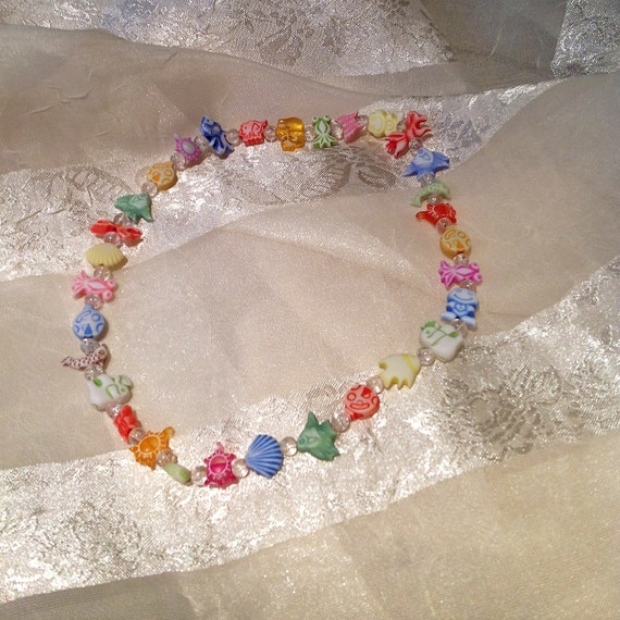 Animal Crackers Kids Necklace or Adult Double Bracelet