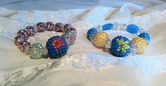 Color Crazy Bracelets With Basketball Wives Beads