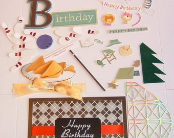 23 DECORATIONS FOR GREETING Cards Outdoors Variety Pack