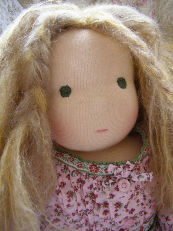 Waldorf Doll 16 inch: RESERVED FOR CHRISTY