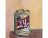 Schlitz, archival print of original oil painting,oil painting