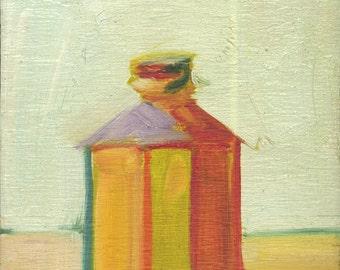 original oil painting,oil painting, Fun Bottle