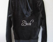 Bridal Hoodie, Personalized Bridal Gift,  Mother of the Bride, Just Married, Bridesmaid Gift, Bridal shower gift, Engagement Announcement